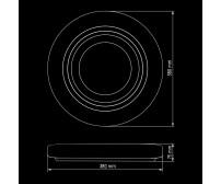 Светильник светодиодный Biom SMART SML-R11-50 3000-6000K 50Вт с д/у